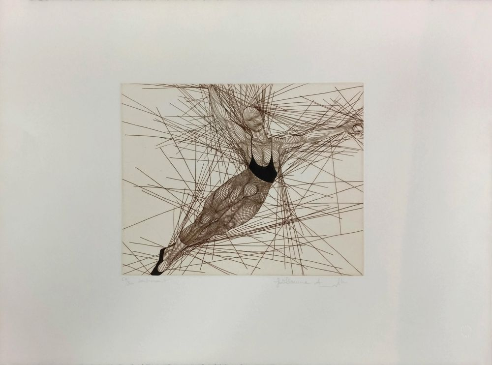 Etching Azoulay - SOUBRESSAUT