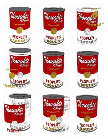 Screenprint Robierb - Soup Cans
