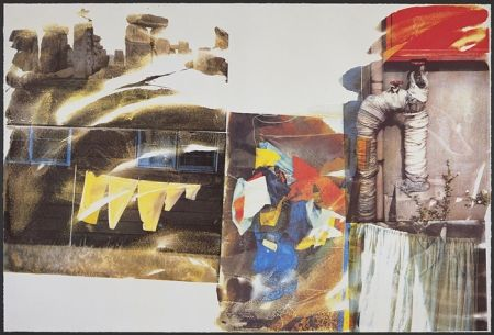 Screenprint Rauschenberg - Source, from Speculations