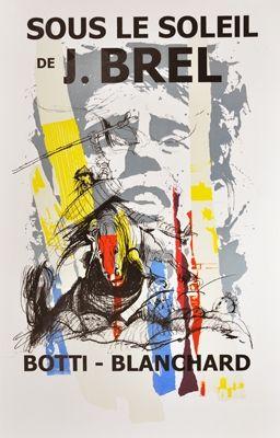 Poster Botti  - Sous le soleil de J. Brel