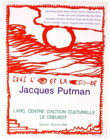 Poster Alechinsky - Sous l'oeil et la plume de Jacques Putman
