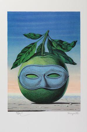 Lithograph Magritte - Souvenir de Voyage