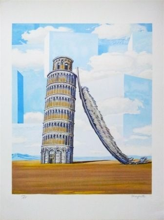 Lithograph Magritte - Souvenir de voyage (Memory of a journey)