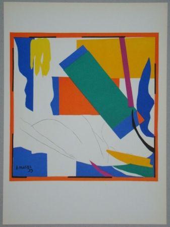 Lithograph Matisse - Souvenir d'Océanie