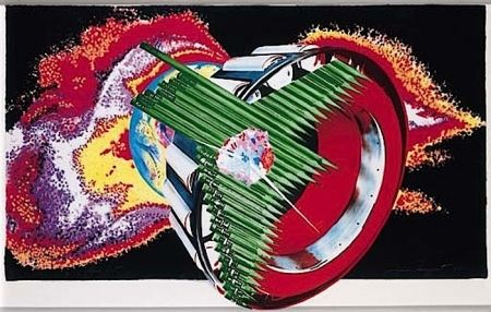 Lithograph Rosenquist - Space Dust (from Welcome to the Water Planet)