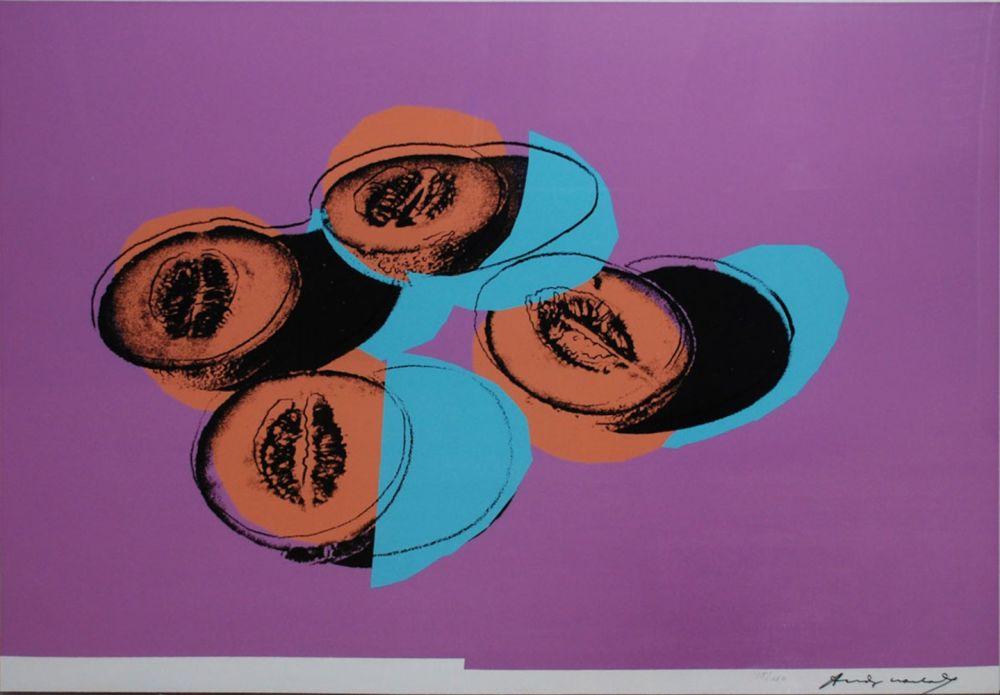 Screenprint Warhol - Space Fruit: Cantaloupes II (FS II.198)