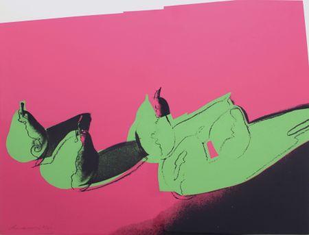 Screenprint Warhol - Space Fruit: Pears (FS II.203)