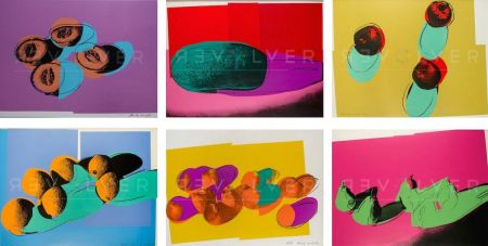 Screenprint Warhol - Space Fruit: Still Lifes, Complete Portfolio (FS II.198-203)