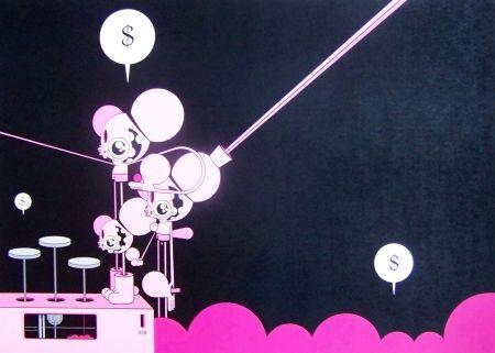 Numeric Print Dalek - Space monkey