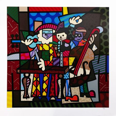 Screenprint Britto - SPANISH SENSATION