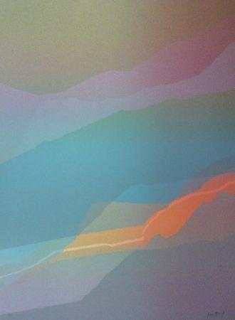 Lithograph Bird - Spectre lumière 3