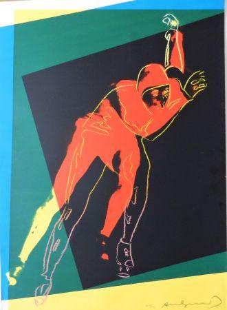 Screenprint Warhol - Speed Skater