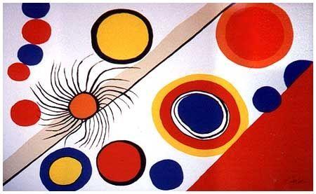 Lithograph Calder - Spider's Nest