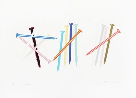 Lithograph Rosenquist - SPIKES