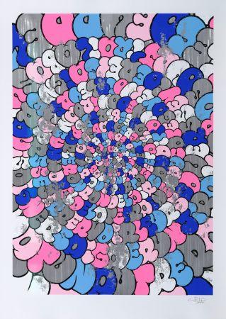 Screenprint Tilt - Spiral