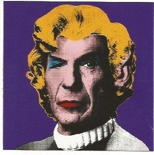 Screenprint Mr. Brainwash - Spock (Wig)
