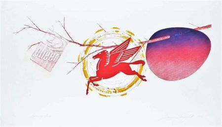 Etching And Aquatint Rosenquist - Spring Cheer