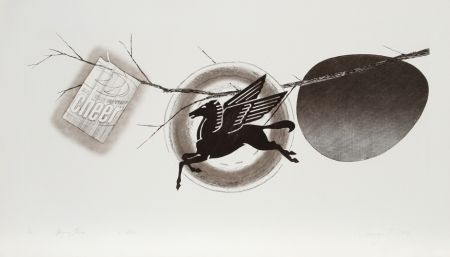 Etching And Aquatint Rosenquist - Spring Cheer (2nd State)