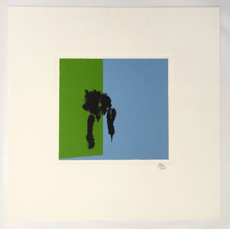 Lithograph Motherwell - Spring – Paris Suite I