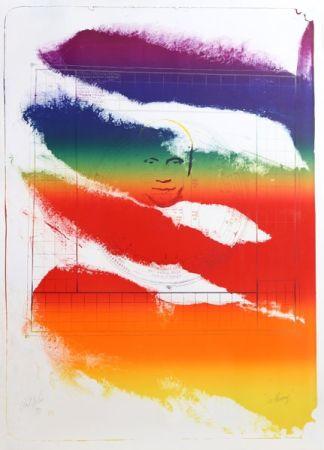 Lithograph Jenkins - Sri Chinmoy