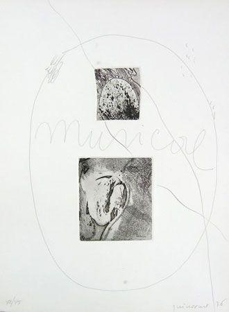 Engraving Guinovart - S/T