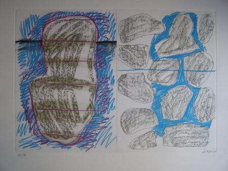 Lithograph Gordillo - S/T