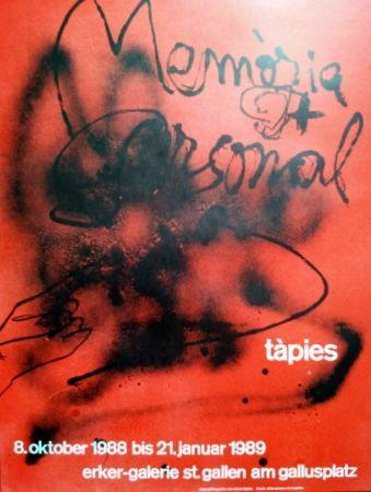 Poster Tàpies - S/T