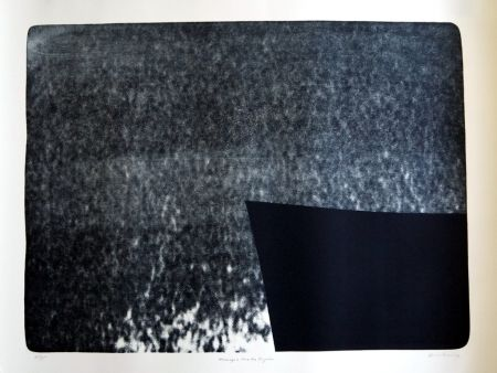 Lithograph Hartung - S/T