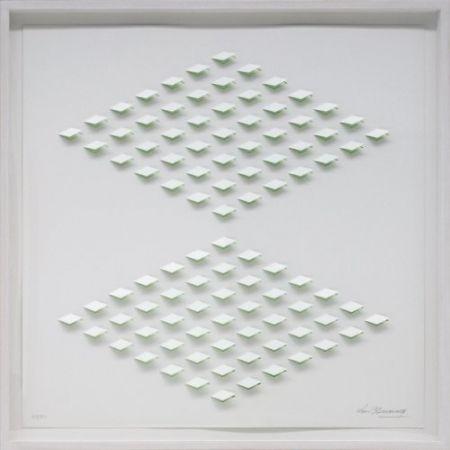Lithograph Tomasello - S/T 2 - Verde