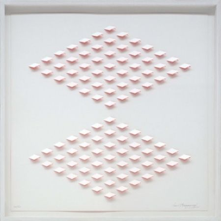 Lithograph Tomasello - S/T 2 Rosa