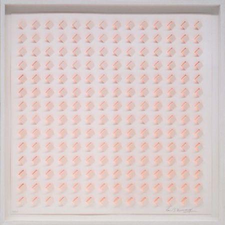 Lithograph Tomasello - S/T 3 - Naranja