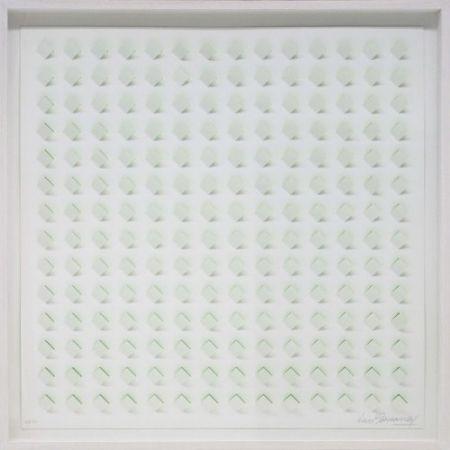 Lithograph Tomasello - S/T 3 - Verde