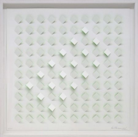 Lithograph Tomasello - S/T 4 - Verde