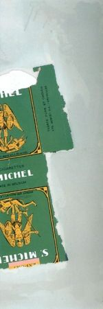 Lithograph Motherwell - St. Michael I (State I)