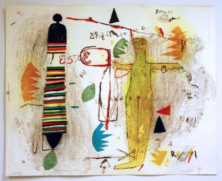 Lithograph Nalin - St Monica