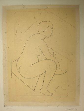 Engraving Valdés - S/T VI