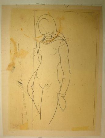 Engraving Valdés - S/T VII
