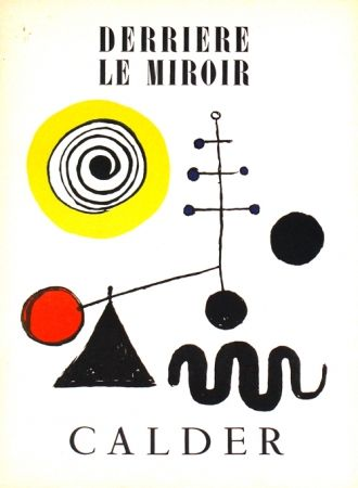 Lithograph Calder -    Stabiles Derriere le Miroir