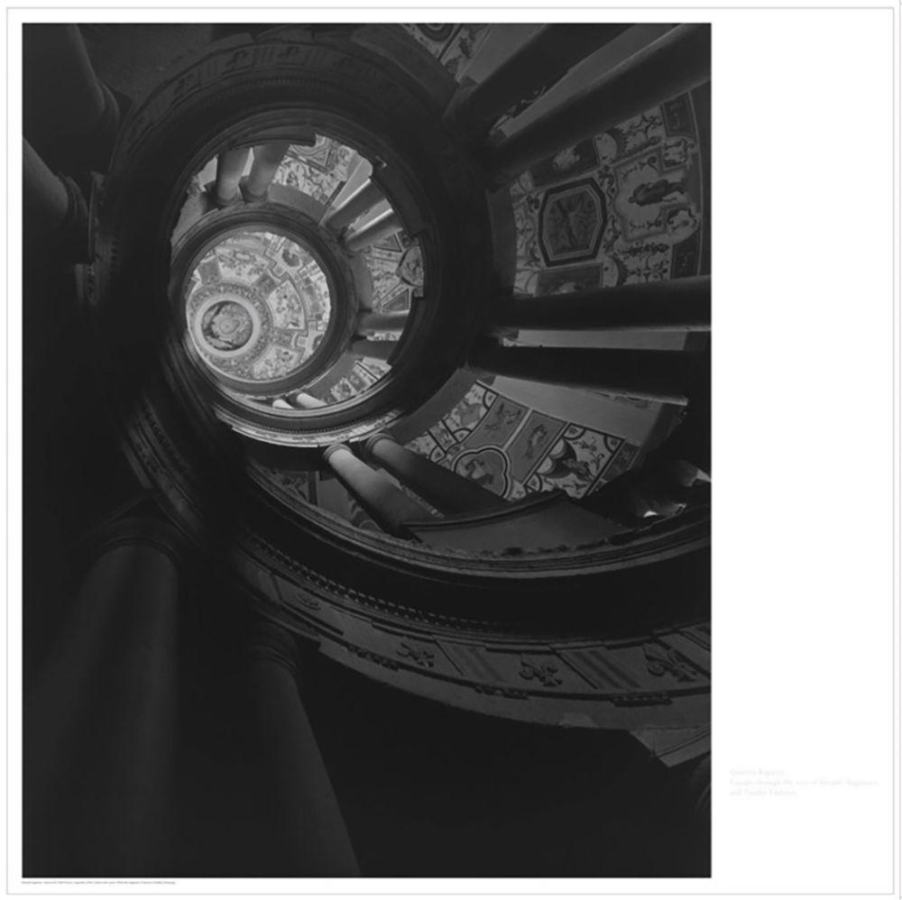 Lithograph Sugimoto - Staircase at Villa Farnese