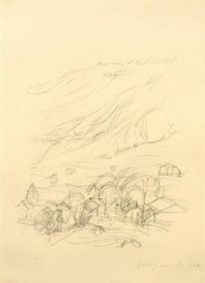 Lithograph Giacometti - Stampa