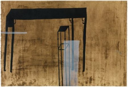 Etching And Aquatint Wang - Stand