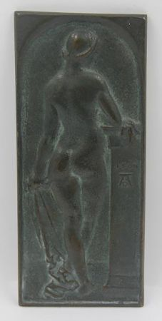 Relief Durer - Standing Nude, Rear View