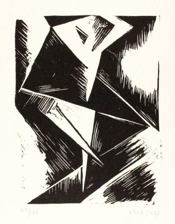 Linocut Kubicki - Stanislaw Kubicki 1889 - 1942