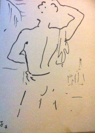 Lithograph Cocteau - Stanley
