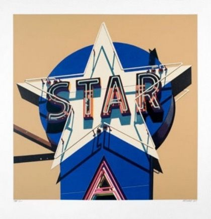 Screenprint Cottingham - Star
