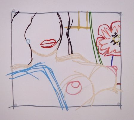 Multiple Wesselmann - Steel Drawing: From Nude Painting