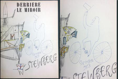 Illustrated Book Steinberg - STEINBERG. (avec dessin original signé et daté). Derrière le Miroir 1953