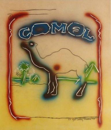 Lithograph Rivers - Stencil Camel