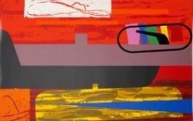 Screenprint Mclean - Stetson Sunset/Half a Homberg