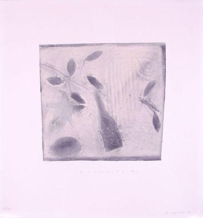 Engraving Gorodine - Still Life #1